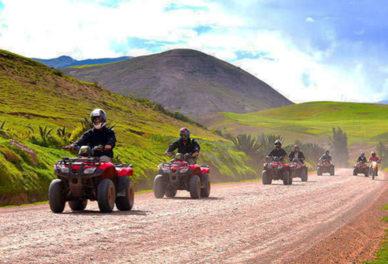 Maras- Moray en Cuatrimotos
