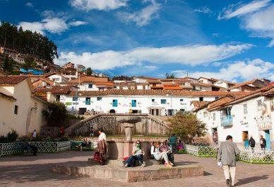 El barrio de San Blas en Cusco